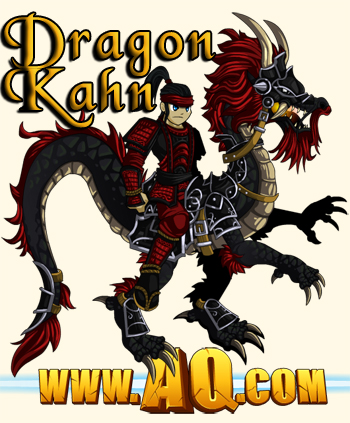 Dragon Kahn Rider for DragonCon in AdventureQuest Worlds