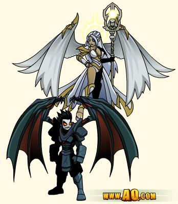 Nulgath fantasy games armor set