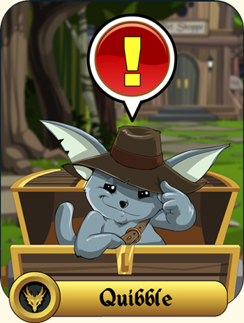 Quibble Coinbiter moglin rare items