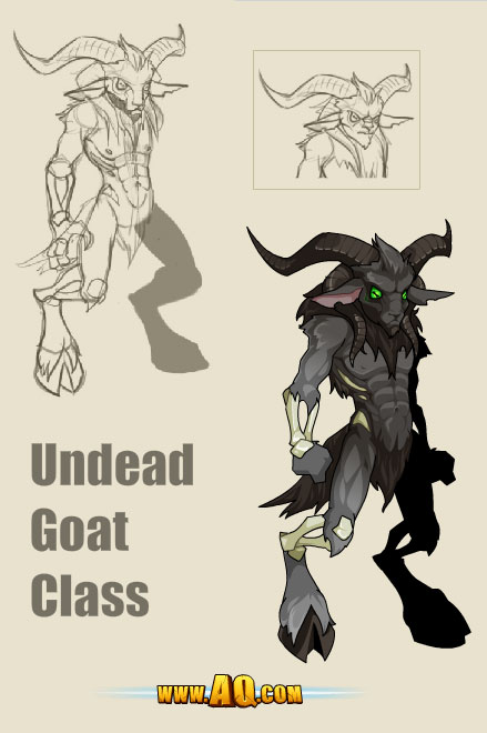 undead goat class aqworlds free rpg mmo