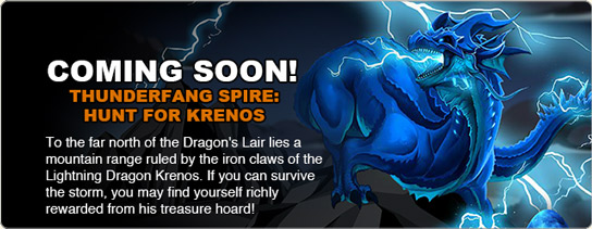 coming soon thunder fang spire lightning dragon rawr