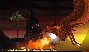 new aqw MMO game tutorial undead assault