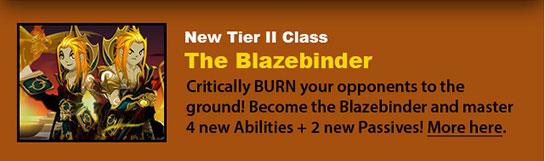 Blazebinder Class