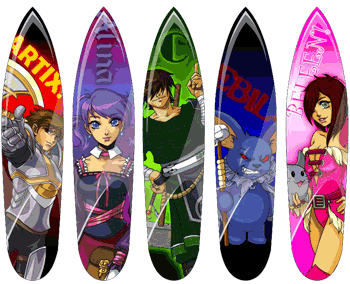 AQWorlds Surf Boards