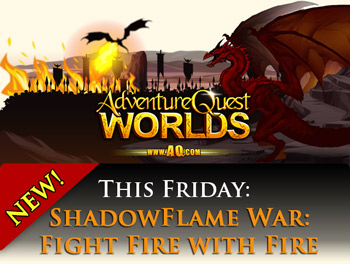 Shadowflame War fight fire with fire dragons