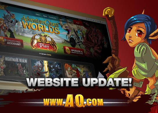 AQworlds Responsive Website