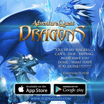 AQ DRAGONS game on apple ios android google play