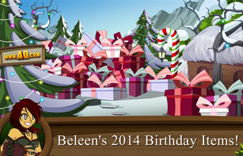 Beleen in real life opens birthday presents in game adventure quest worlds