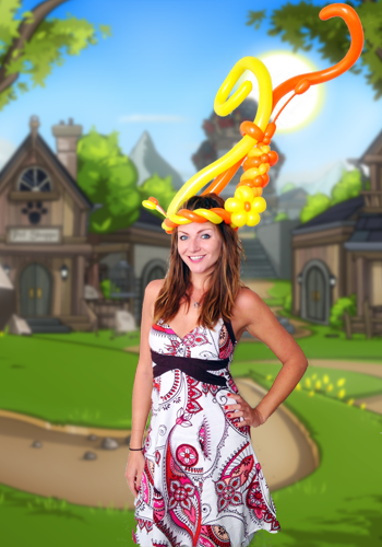ascot balloon hat aqworlds beleen in real life