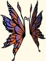 Twilght Monarch Wings