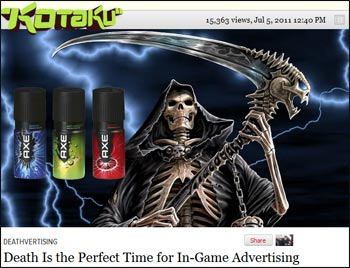 AQWorlds Death Ads review on Kotaku