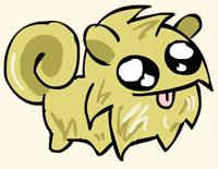 Derpy Daimyo Artix dog
