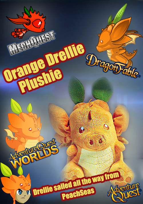Drellie promo items