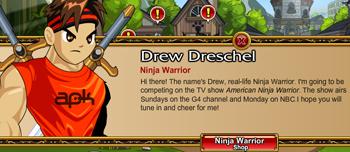 Drew American Ninja Warrior