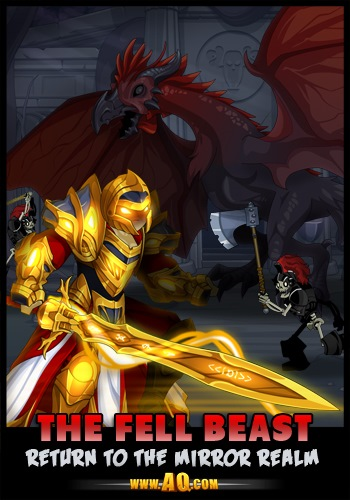 Cockatrice AQWorlds battle monster mmo