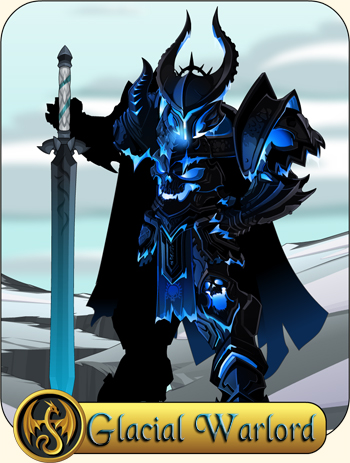 Glacial Warlord Class AdventureQuest Worlds
