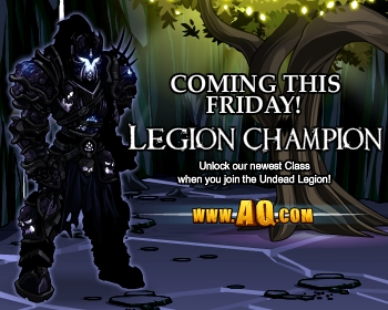 Legion Champion fantasy game class