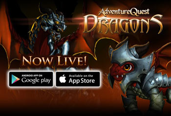 new dragon game iOS android google play app store adventure quest