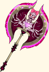 Pink Shadow Reaper of doom in online fantasy game