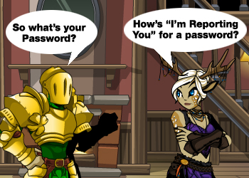 How To Report a Player in AdventureQuest Worlds