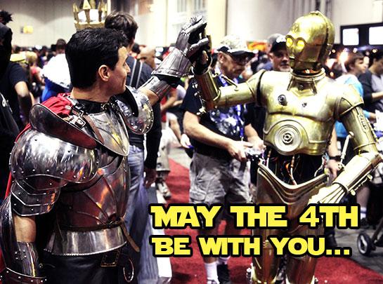 Artix meets C3PO