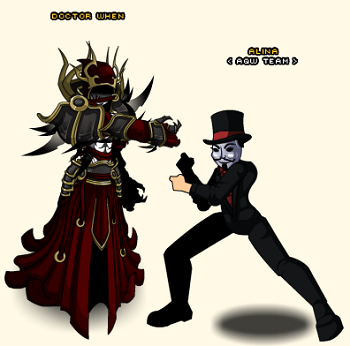 how to get red hunting hood in aqw non member