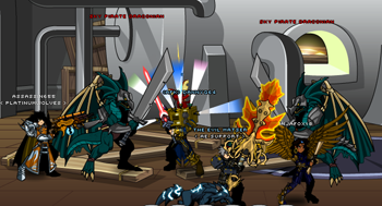 Assassin655 and friends battle Sky Pirates