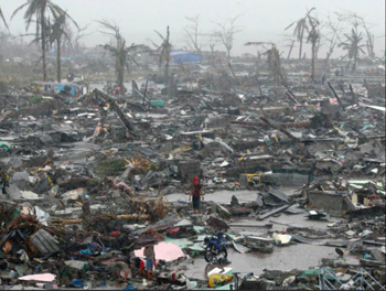 Philippines Typhoon Haiyan