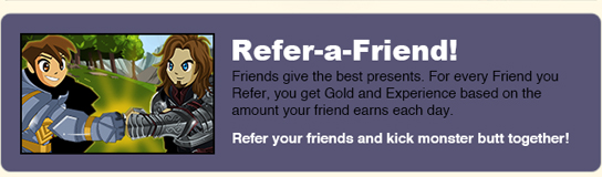 refer a friend free to play game online