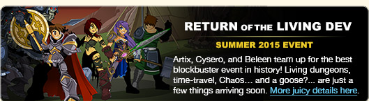 return of the living dev summer release artix cysero beleen