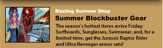 summer sale in online adventure game