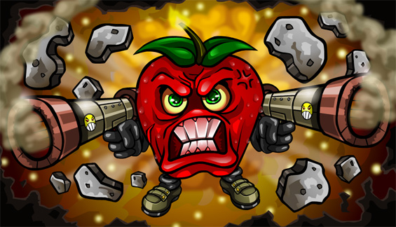 Angry Apple!